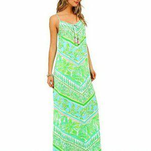 Lilly Pulitzer Philomena Maxi Dress Green